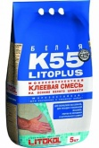 Клей для плитки Litokol Litoplus K55 (5кг) на сайте domix.by