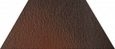 Клинкерная плитка Ceramika Paradyz Cloud Brown Duro Trapez (12,6x29,6) на сайте domix.by